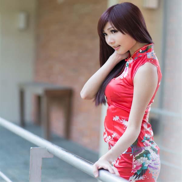 台湾美女 張雅筑Chu - Lovely Style 旗袍写真套图